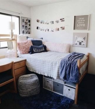 Beautiful Dorm Room Organization Ideas To Try Asap 32
