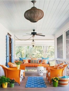 Best Colorful Porch Design Ideas That Looks Cool 12