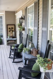 Best Colorful Porch Design Ideas That Looks Cool 29