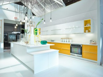 Best Yellow Accent Kitchens Ideas For You 15