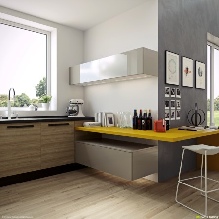 Best Yellow Accent Kitchens Ideas For You 24