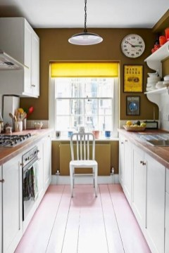 Best Yellow Accent Kitchens Ideas For You 28