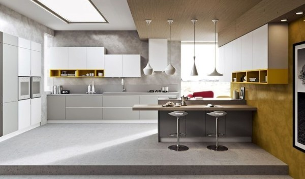 Best Yellow Accent Kitchens Ideas For You 31