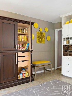 Best Yellow Accent Kitchens Ideas For You 38