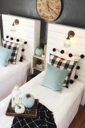 Creative Twin Beds Decoration Ideas For Your Twin Girls 41