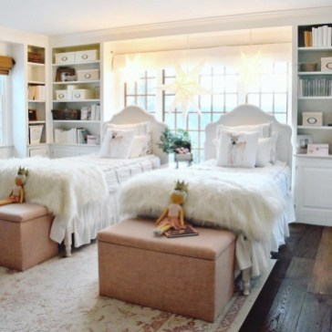 Creative Twin Beds Decoration Ideas For Your Twin Girls 45