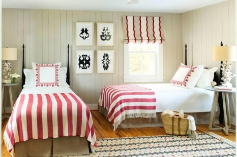 Creative Twin Beds Decoration Ideas For Your Twin Girls 48