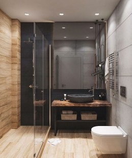 Excellent Wooden Bathroom Designs Ideas To Try 27