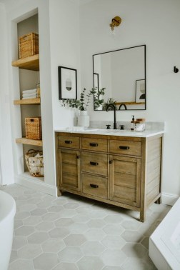 Excellent Wooden Bathroom Designs Ideas To Try 38
