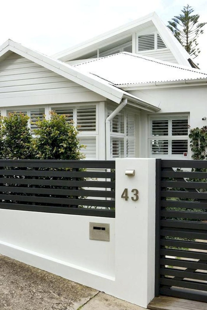 Hottest Fence Design Ideas That You Can Try 06