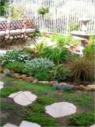 Newest Green Grass Design Ideas For Front Yard Garden 06