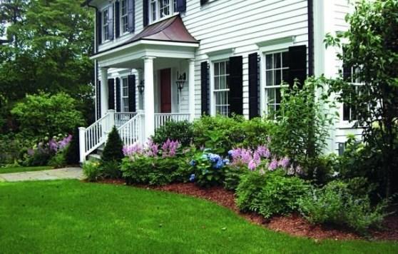 Newest Green Grass Design Ideas For Front Yard Garden 38