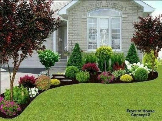 Pretty Front Yard Landscaping Design Ideas For You 07
