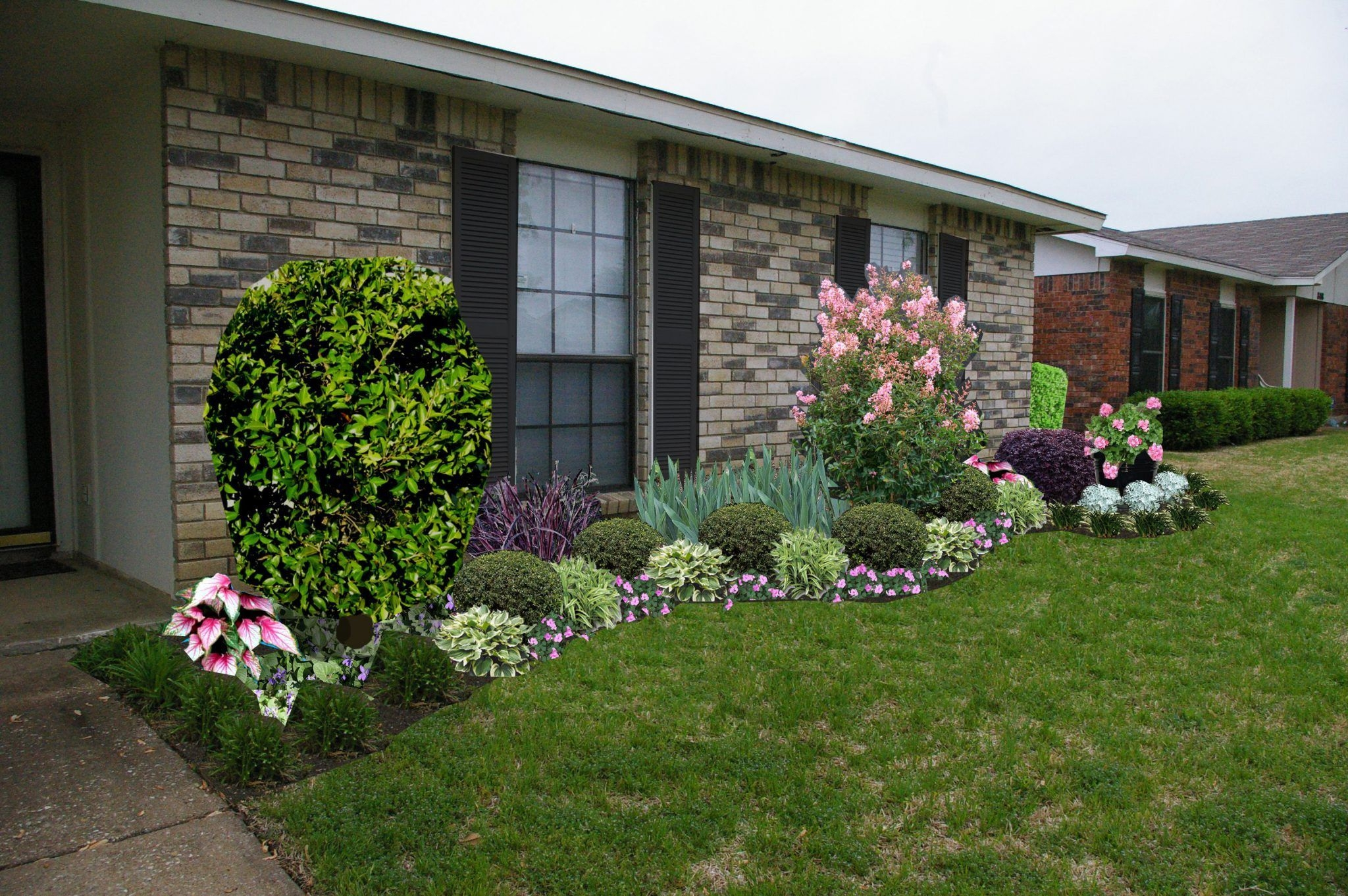 Pretty Front Yard Landscaping Design Ideas For You 35