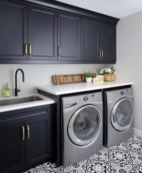 Trendy Small Laundry Room Design Ideas To Try Asap 07