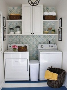 Trendy Small Laundry Room Design Ideas To Try Asap 14
