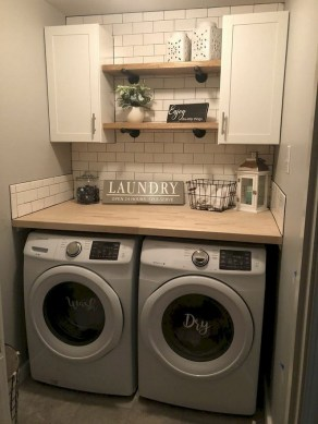 Trendy Small Laundry Room Design Ideas To Try Asap 25