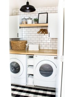 Trendy Small Laundry Room Design Ideas To Try Asap 29