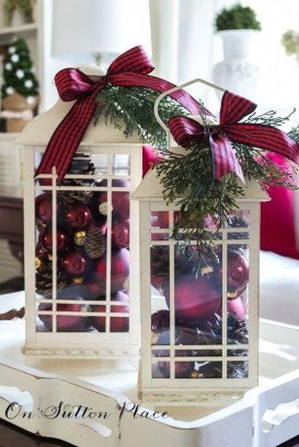 27Rustic Christmas Design Ideas For Your Apartment Décor To Try