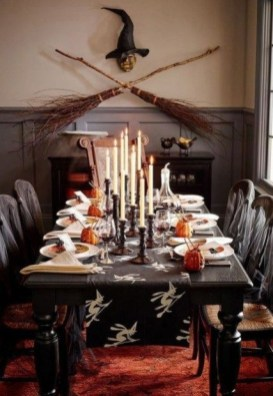 Best Halloween Party Décor Ideas For Dining Table 07