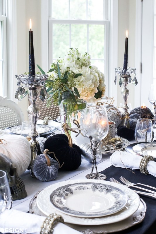 Best Halloween Party Décor Ideas For Dining Table 39