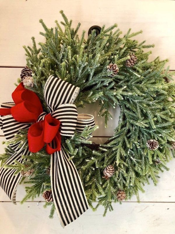 Captivating Diy Front Door Design Ideas For Special Christmas To Try 10