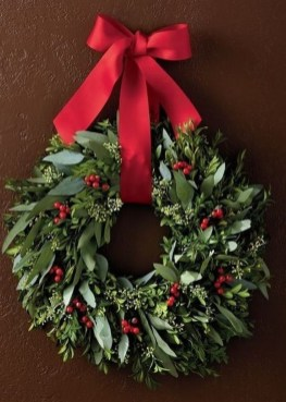 Captivating Diy Front Door Design Ideas For Special Christmas To Try 26