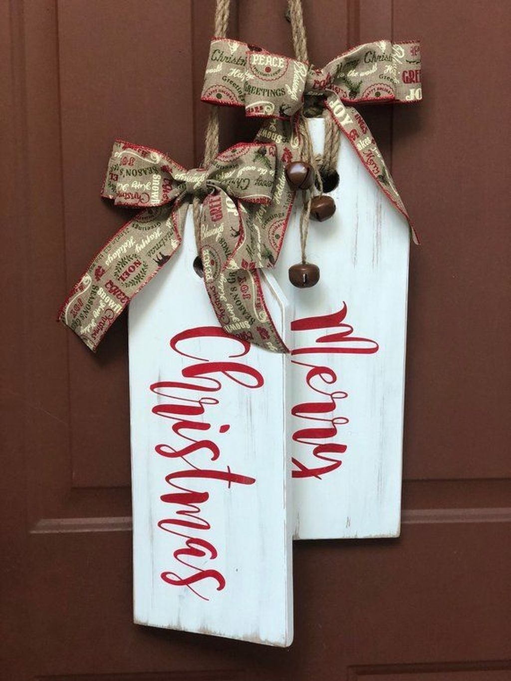 Captivating Diy Front Door Design Ideas For Special Christmas To Try 30