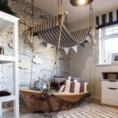 Charming Childrens Bedroom Resembles Design Ideas With A Boat 18