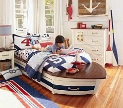 Charming Childrens Bedroom Resembles Design Ideas With A Boat 22