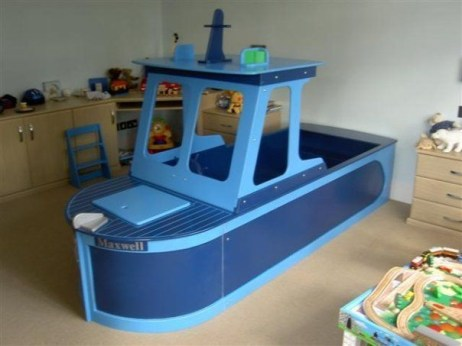 Charming Childrens Bedroom Resembles Design Ideas With A Boat 29