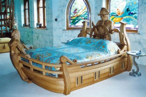 Charming Childrens Bedroom Resembles Design Ideas With A Boat 46