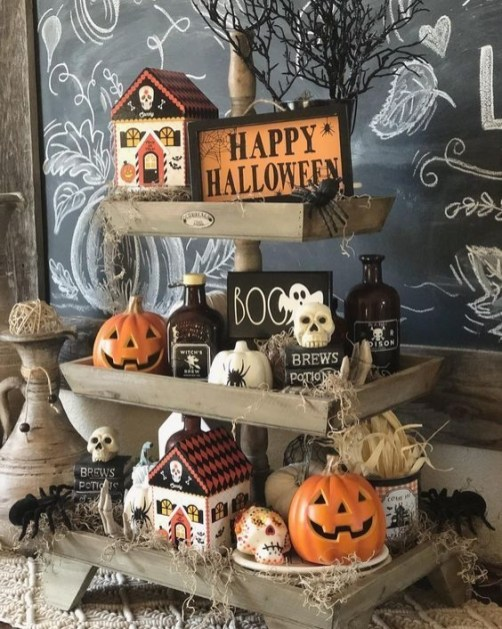 Chic Halloween Home Décor Ideas To Your Inspire You 46