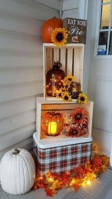 Creative Diy Decor Ideas To Welcome Autumn That Looks Cool 20