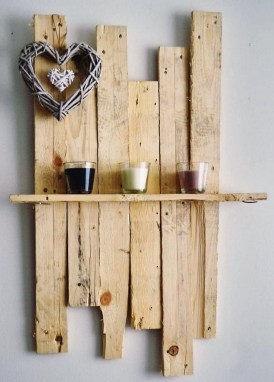 Cute Home Decor Ideas With Wooden Pallet That Looks Amazing 07