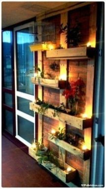 Cute Home Decor Ideas With Wooden Pallet That Looks Amazing 08