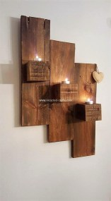 Cute Home Decor Ideas With Wooden Pallet That Looks Amazing 23