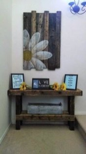 Cute Home Decor Ideas With Wooden Pallet That Looks Amazing 29
