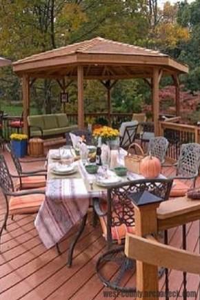 Enchanting Backyard Deck Ideas For Autumn To Try Asap 18