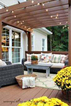 Enchanting Backyard Deck Ideas For Autumn To Try Asap 32