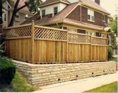 Extraordinary Front Yard Fence Design Ideas With Wood Material For Small House 10