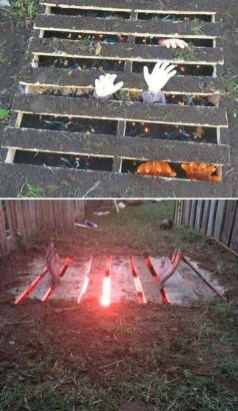 Favored Halloween Diy Pallet Outdoor Decor Ideas To Inspire You 16