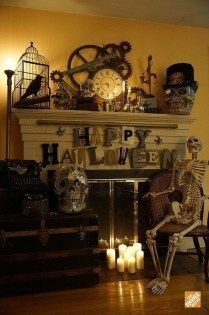 Relaxing Diy Halloween Living Room Decoration Ideas To Try 22
