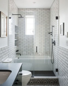 Unrdinary Small Bathroom Design Remodel Ideas With Awesome Tiles To Try 02