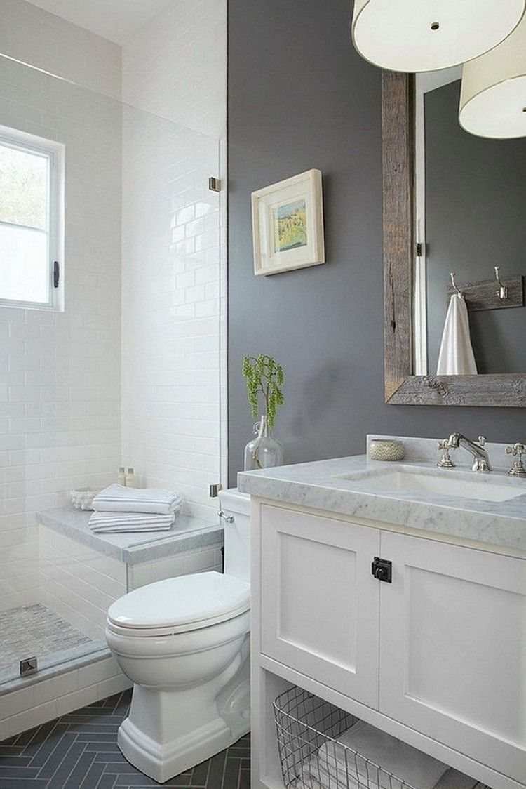 Unrdinary Small Bathroom Design Remodel Ideas With Awesome Tiles To Try 20