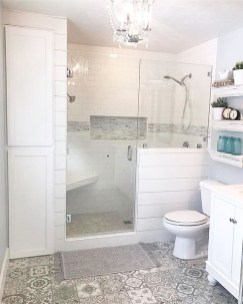 Unrdinary Small Bathroom Design Remodel Ideas With Awesome Tiles To Try 28