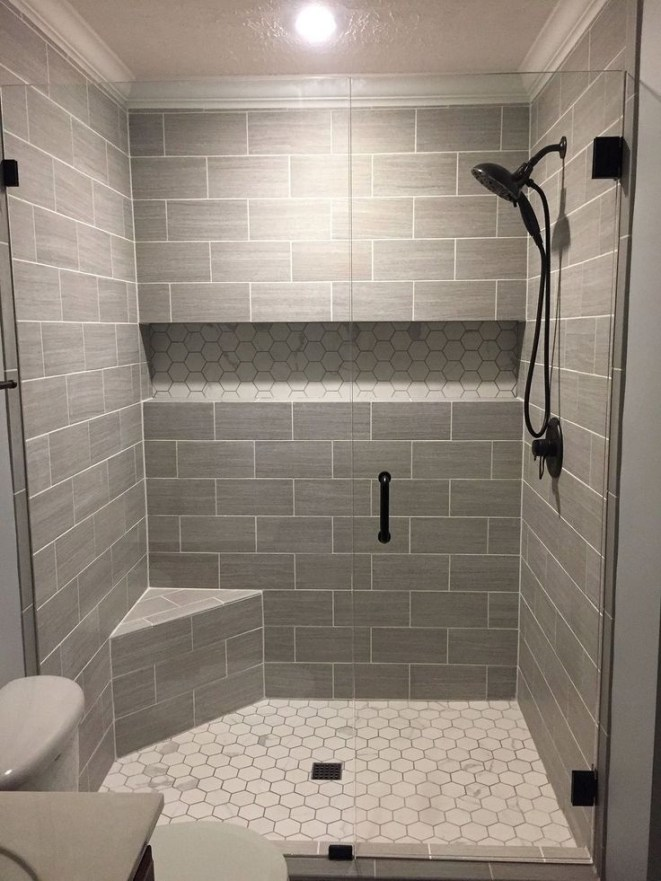 Unrdinary Small Bathroom Design Remodel Ideas With Awesome Tiles To Try 39