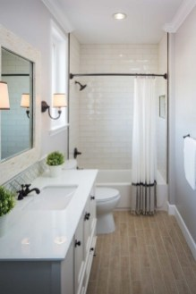 Unusual Remodel Design Ideas To Be Modern Farmhouse Bathroom 10