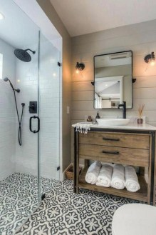 Unusual Remodel Design Ideas To Be Modern Farmhouse Bathroom 12