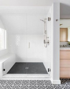 Unusual Remodel Design Ideas To Be Modern Farmhouse Bathroom 32